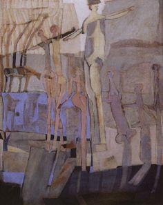 guillermo trujillo paintings | Guillermo Trujillo - El baño purificador - Arte Panamá - Informacion ...