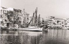 Chania / Crete - Information about the City & Prefecture of Chania - © CRETA deluxe - - Old Time Photos, Old Pictures, Vintage Photographs, Vintage Photos, Crete Chania, Benaki Museum, Crete Island, Greek Culture, Simple Photo