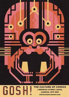 Juxtapoz Magazine - Ben Newman Illustrations