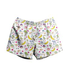 Year Two Limited Edition Nikben Swim Shorts White