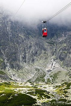 Cable Car In Slovakia, High Tatras Stock Image - Image of majestic, hike: 18514303 Countries Europe, European Countries, High Tatras, Tatra Mountains, Heart Of Europe, Central Europe, Bratislava, Budapest, The Great Outdoors