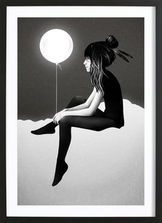 No Such Thing As Nothing (by Night) as Framed Poster by Ruben Ireland   JUNIQE