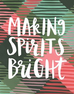 Making Spirits Bright card by One Canoe Two on Postable.com