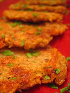 Vegan Latkes from post punk kitchen