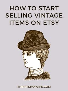 Learn the basics for getting started selling vintage items on Etsy for beginners.
