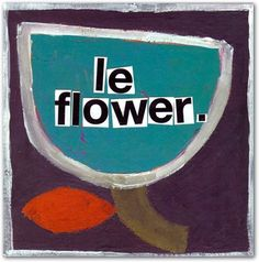 New from Summer 2012: Le Flower by KOCO NY: Modern Paper Goods @2.95