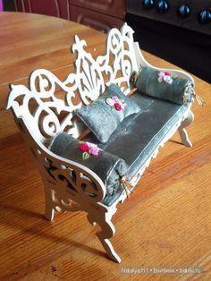 Обновление деревянной мебели / Домики для кукол, мебель своими руками. Коляски, кроватки и другое / Бэйбики. Куклы фото. Одежда для кукол