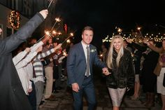 Sleepy Ridge Weddings & Events | Orem, Utah | Utah Venue | Bride and Groom | Sparkler Sendoff | Reception | Wedding | Photographer: Kenzie Myers