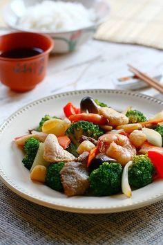 Happy Family Recipe | Easy Asian Recipes http://rasamalaysia.com