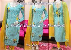 Punjabi Designer Suits  Chandigarh. 094636 08268.