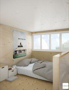 Le lit, design Benoît Marc