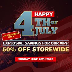 Independence Day Sale! VIPs save 50% OFF storewide on June 28th! Click here to become a VIP!http://bit.ly/MYUNQEN