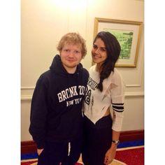 Ed Sheeran & Izabelle Leite