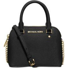 Michael Michael Kors Cindy Mini Crossbody ( 178) ❤ liked on Polyvore  featuring bags 11df33e839dbd