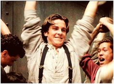 """stressie: """" 100 pictures of Jack Kelly → """" Theatre Nerds, Musical Theatre, Movies Showing, Movies And Tv Shows, Chris Bale, Jack Kelly, Skinny Guys, Christian Bale"""