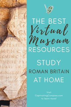Roman Britain Virtual Museum Tour & Unit Study is perfect for Upper Elementary through Middle School. It is also excellent companion work (final project) for any high schooler studying ancient history, archaeology or British history. Get the Unit Study today.