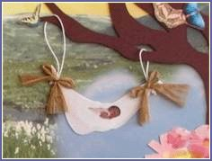 Just a Cloud Away, Inc created Pregnancy and Infant Loss Remembrance Kits for parents and supporting family members to honor deceased babies while still including their essence within the family unit