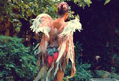 Martin Izquierdo / Phillip Lim - Phoenix wings for Kanye West's Runaway film