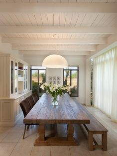Long Dinning Table Design, Pictures, Remodel, Decor and Ideas - page 3