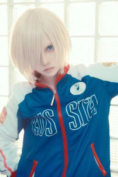 Yuri Plisetsky Cosplay - COSPLAY IS BAEEE! Tap the pin now to grab yourself some BAE Cosplay leggings and shirts! From super hero fitness leggings, super hero fitness shirts, and so much more that wil make you say YASSS! Cosplay Anime, Yurio Cosplay, Tsuyu Cosplay, Cosplay Lindo, Cute Cosplay, Cosplay Makeup, Amazing Cosplay, Cosplay Outfits, Anime Outfits