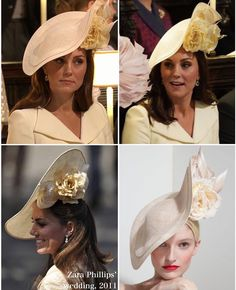 Meghan's wedding - Philip Treacy hat