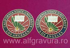 Medalie in relief din alama