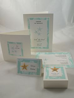 Beach Themed Wedding papers