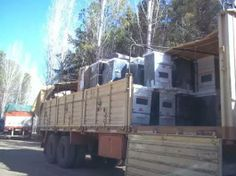 Recuperan camión con cocinas que había sido robado en Munro