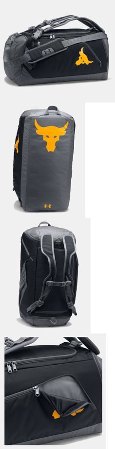 cd036d98d799 Bags and Backpacks 163537  Ua X Project Rock Under Armour Exclusive Contain  Duffel-Bag Nwt -  BUY IT NOW ONLY   150 on eBay!