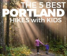 This is a post by Brittany, our resident hiking enthusiast. The Pacific Northwest has so many amazing hikes to offer. These five are a great jumping point to get kids out there on the trail. Portland Hikes, Frugal Living Nw, Hiking With Kids, Pacific Northwest, Places To See, Oregon, Things To Do, Trail, Explore