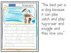 Yesterday I was at a workshop with our Instructional Literacy Team and I started to think about persuasive writing. In kindergarten it starts with writing opinions. Do kindergartners have opinions? Oh, YES! I started this morning with this chart. This is an ugly chart… I admit it. My cat looks a LOT like a pregnant...Read More »