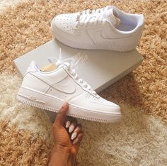Like what you see⁉Follow me on Pinterest ✨: @joyceejoseph ~ Air Force 1's