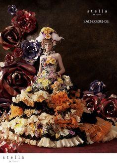 .::: Design by Stella de Libero :::.  Bridal wedding dress.