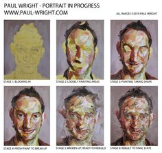 progression by Paul Wright Paul Wright, A Level Art, Learn To Paint, Illustrations And Posters, Ink Art, Art Techniques, Art Tutorials, Art Lessons, Art Reference