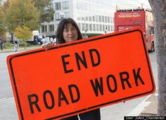 End road work!  Wait...what?