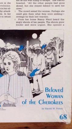 Nancy Ward, Beloved Woman Of The Cherokee Indians Reprinted Homeschool book
