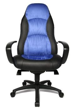 Chefsessel Bürostuhl Gamerstuhl Topstar Comfort Point 50 schwarz Kunstled BWare
