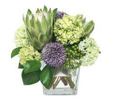 Modern Floral Arrangements, Beautiful Flower Arrangements, Summer Flower Arrangements, Ikebana Arrangements, Deco Floral, Green Flowers, Rose Flowers, Lavender Flowers, Faux Flowers