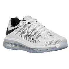 Nike Womens Air Max 2015 WhiteBlack Mesh Running Shoes 105 M US ** You can find out more details at the link of the image.(This is an Amazon affiliate link)