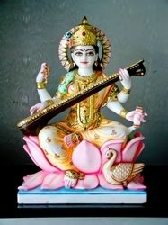 Saraswati Statue offered by Veer Bajrang Moorti Art, a leading supplier of Goddess Statues in Jaipur, Rajasthan. The Company was incorporated in 1985 and is registered with IndiaMART. Saraswati Statue, Saraswati Mata, Saraswati Goddess, Rajasthan India, Jaipur, Radha Krishna Wallpaper, God Pictures, Deities, Idol