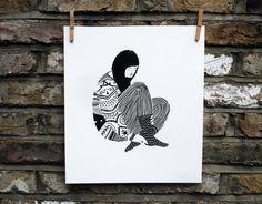 Sweater van KarolinSchnoor op Etsy