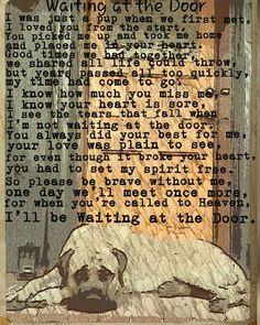 Waiting at the door poem. #mastiff #englishmastiff #dog #bigdog #gentlegiant Mastiff_happy