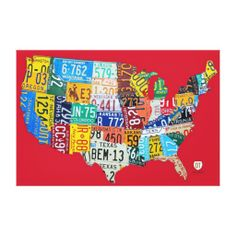 Closeup Detail of Vintage Old World Map  All Aboard For Zazzle