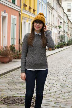 Mode and the city // les jolies couleurs de la rue Crémieux ( Paris)