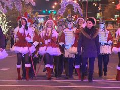 Bellevue's Snowflake Lane 20-minute shows at 7pm every night until Christmas.