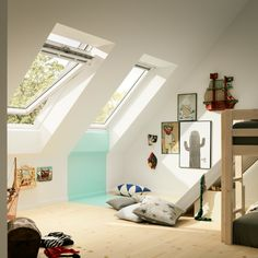 Looking for interior loft inspiration? Take a look at our brand new Loft Conversion gallery for ideas. Loft Conversion, Home, Living Roofs, House Roof, Roof Window, Solar Panels Roof, Roofing Diy, Loft Bed, Loft Inspiration