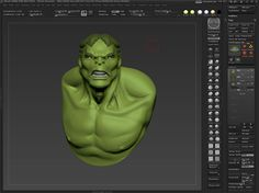 Hulk Speed Sculpt by pointpusher. A 2 hour sketch from tonight.  The music is from Kanye West  and Talib Kweli on the album The College Drop Out.  You can purchase the album here: http://www.amazon.com/College-Dropout-Kanye-West/dp/B0001AP12G/ref=sr_1_3?ie=UTF8=1316244407=8-3