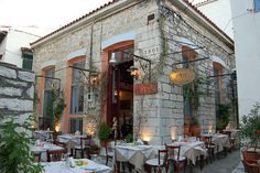 Restaurant 1901, Skiathos Town by Twin Peaks, via Flickr