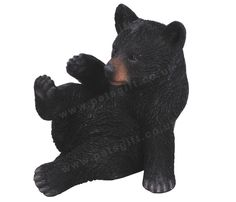 Sitting Black Bear Ornament #Bear #Wild #Zoo #Bearcub