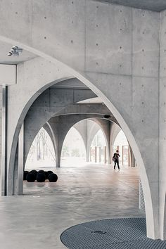 Architecture - Modern design : Library House, Tochigi, Japan by Shinichi Ogawa. Architecture Modern design : Library House Tochigi Japan by Shinichi Ogawa. Tokyo Architecture, Detail Architecture, Modern Japanese Architecture, Concrete Architecture, Amazing Architecture, Interior Architecture, Foster Architecture, University Architecture, Minimal Architecture